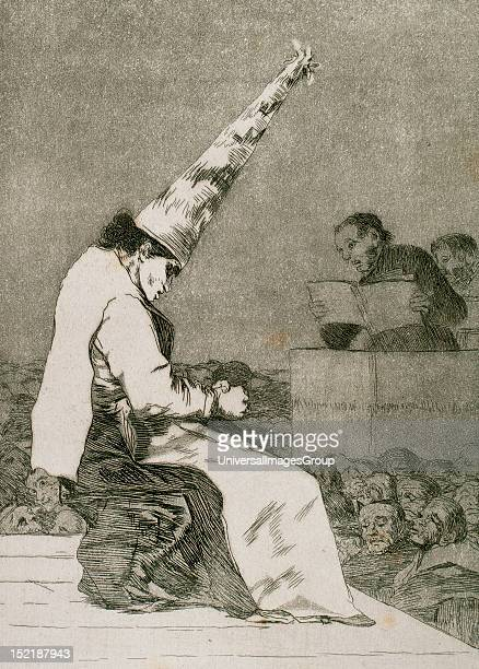 Francisco de Goya Spanish painter and printmaker Los Caprichos Aquellos Polvos Aquatint 23 published in 1799