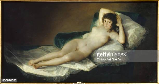 Francisco de Goya The Naked Maja 17951800 Oil on canvas 098 x 191 m Madrid museo del Prado
