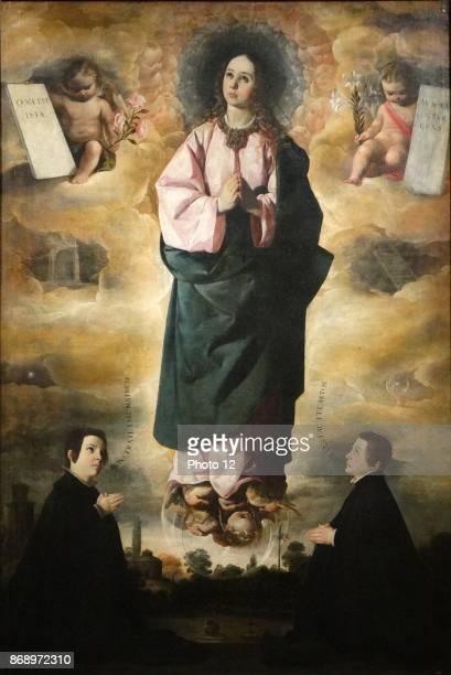 Francisco de Zurbaran the Immaculate Conception 1632 Oil on canvas