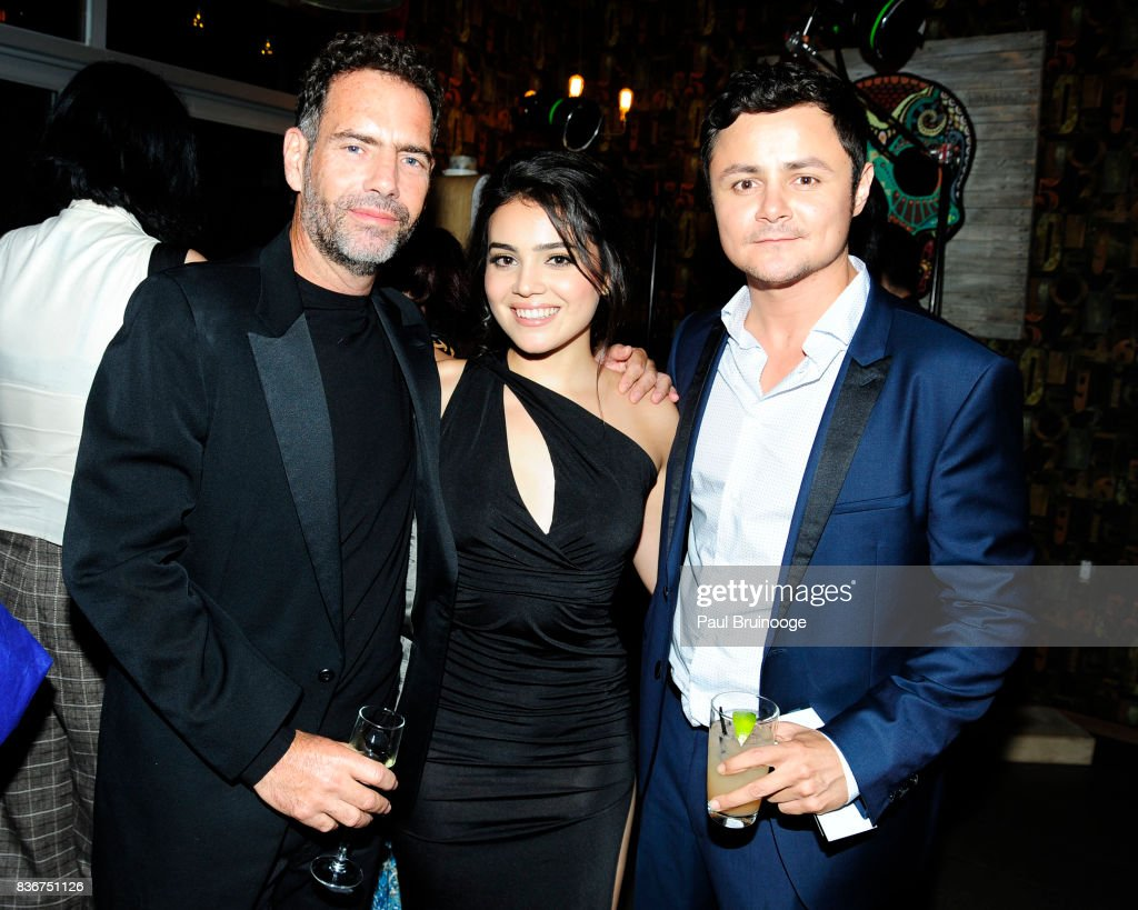 Francisco Denis, Andrea Londo and Arturo Castro attend 'Narcos' Season 3 New York Screening - After Party at Stage 48 on August 21, 2017 in New York City.