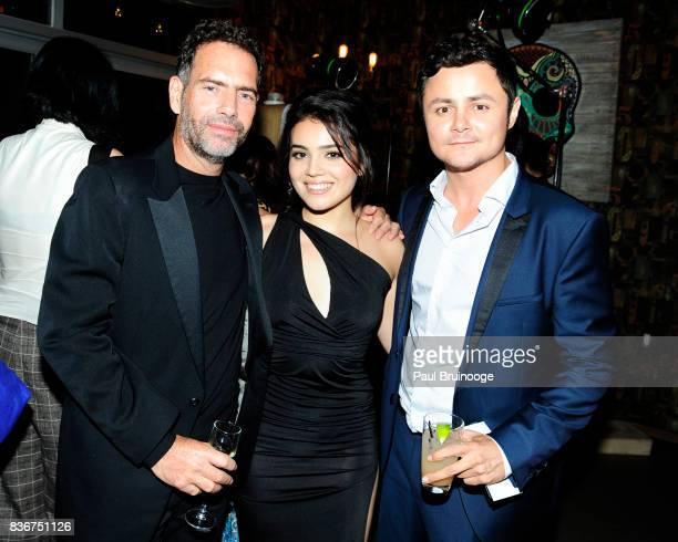 Francisco Denis Andrea Londo and Arturo Castro attend 'Narcos' Season 3 New York Screening After Party at Stage 48 on August 21 2017 in New York City
