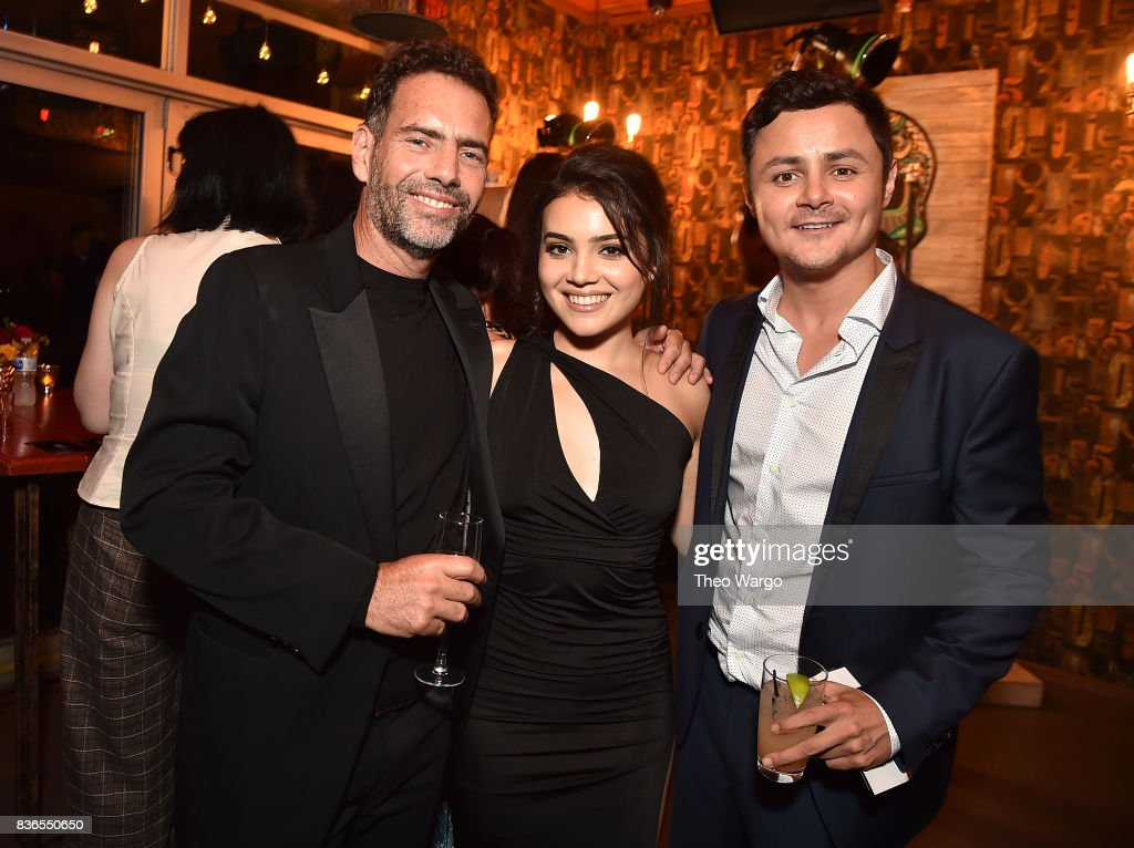 Francisco Denis, Andrea Londo and Arturo Castro attend the 'Narcos' Season 3 New York Screening at AMC Loews Lincoln Square 13 theater on August 21, 2017 in New York City.