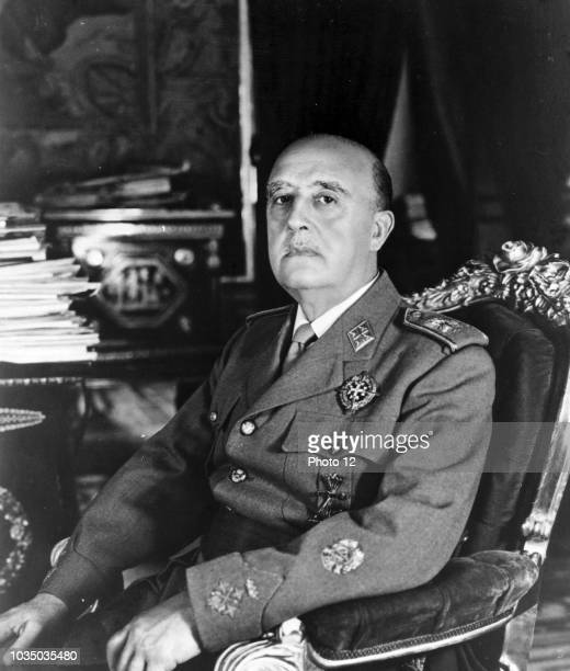 Francisco Franco Bahamonde dictator of Spain from 1939 to his death in 1975
