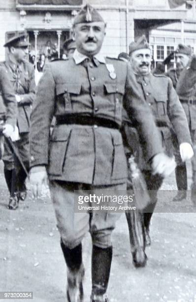 Francisco Franco Bahamonde Spanish general dictator and the Caudillo of Spain from 1939 until his death