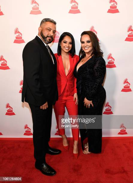 Francisco Gomez Rebbeca Marie Gomez and Alejandra Gomez attends the Leading Ladies of Entertainment Luncheon during the 19th annual Latin GRAMMY...