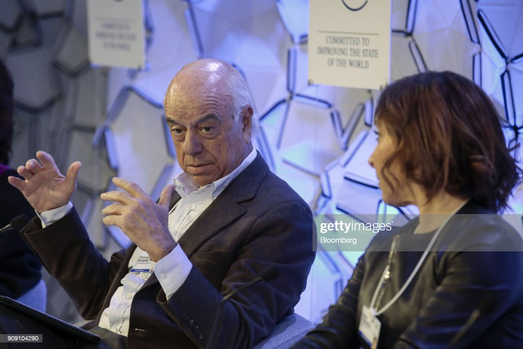 Opening Day Of The World Economic Forum  2018