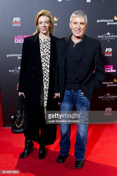 Francisco Javier Herrero Pozo attends 'Los Del Tunel' premiere during the Madrid Premiere Week at Callao Cinema on November 21 2016 in Madrid Spain