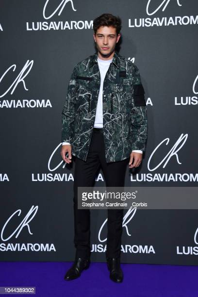 Francisco Lachowski attends the CR Fashion Book x LuisaViaRoma Photocall as part of the Paris Fashion Week Womenswear Spring/Summer 2019 on October 1...