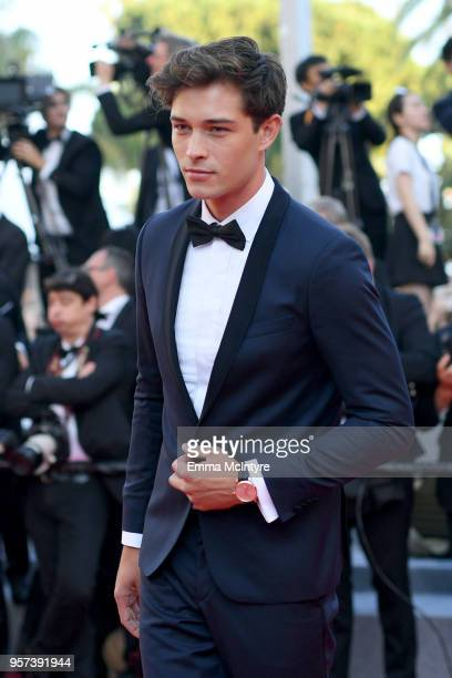 Francisco Lachowski attends the screening of Ash Is The Purest White during the 71st annual Cannes Film Festival at Palais des Festivals on May 11...