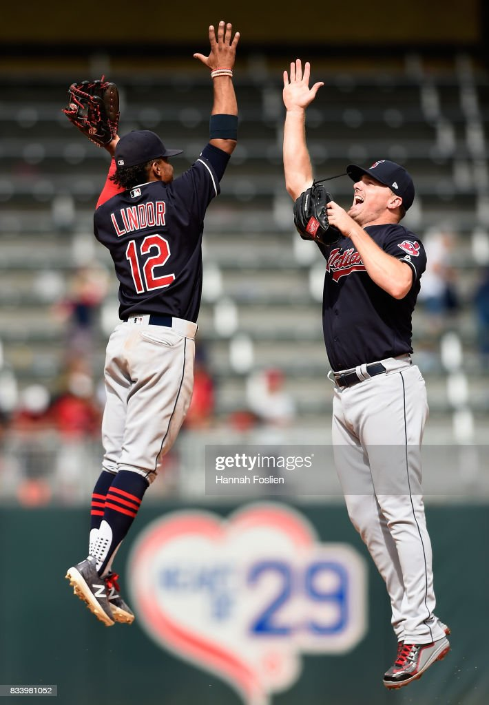 Cleveland Indians v Minnesota Twins - Game one