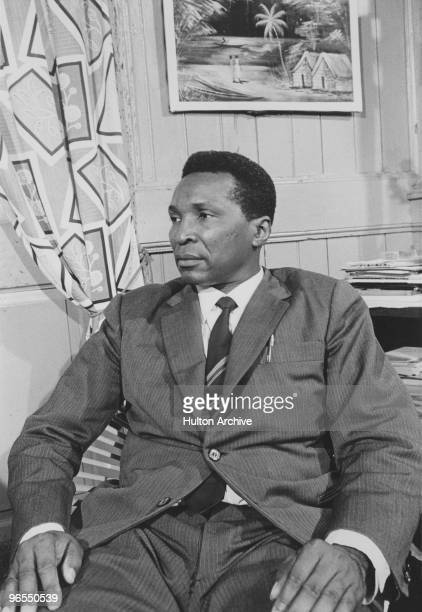 Francisco Macias Nguema the first President of Equatorial Guinea circa 1970 He was executed in 1979 after a military coup