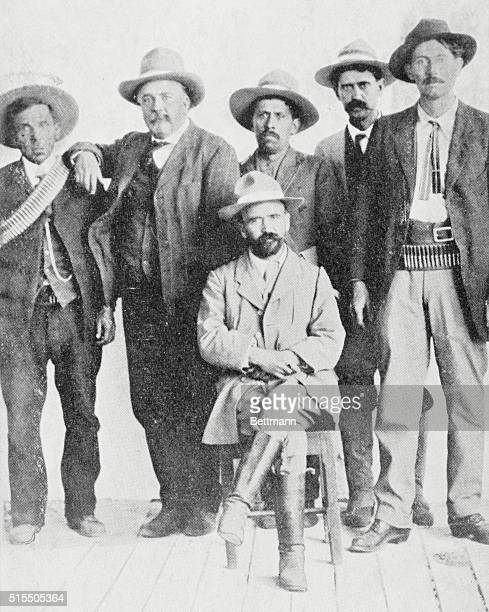 Francisco Madero In April a revolution took place in Mexico headed by Francisco Madero who is shown seated Porfirio Diaz was forced to fly the...