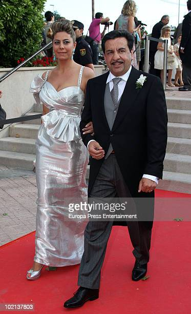 Francisco Martinez attends the wedding of Manuel Colonques, son of the president of Porcelanosa company, and Cristina Babiloni on June 11, 2010 in...