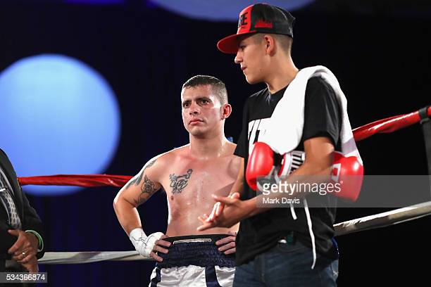 Francisco Medel attends B Riley Co and Sugar Ray Leonard Foundation's 7th Annual Big Fighters Big Cause Charity Boxing Night at Dolby Theatre on May...