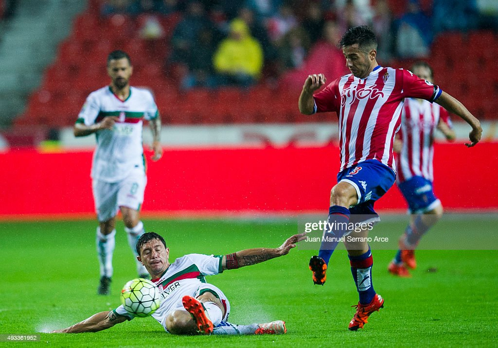 Sporting Gijon v Granada CF - La Liga
