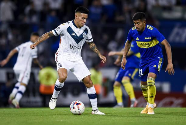 ARG: Velez Sarsfield v Boca Juniors - Torneo Liga Profesional 2021
