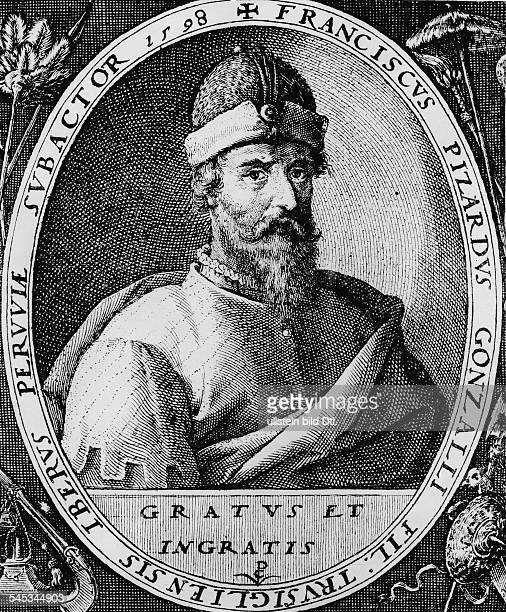 Francisco Pizarro*147626061541Spanish conquistador of PeruEngraving 1598