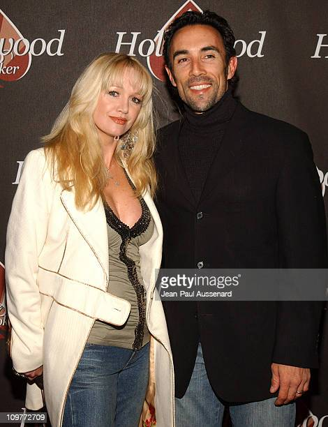 Francisco Quinn and wife during Hollywoodpokercom 1st Anniversary Party Arrivals at Montmartre Lounge in Hollywood California United States
