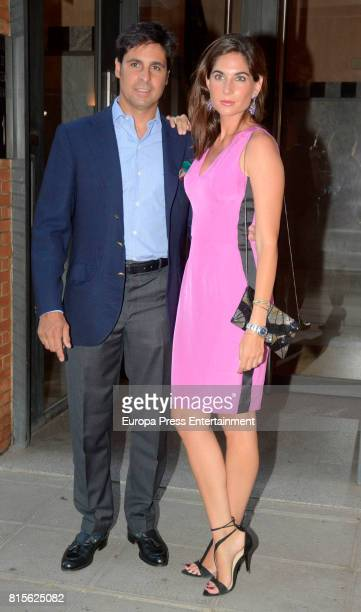 Francisco Rivera and Lourdes Montes are seen on June 16 2017 in Seville Spain