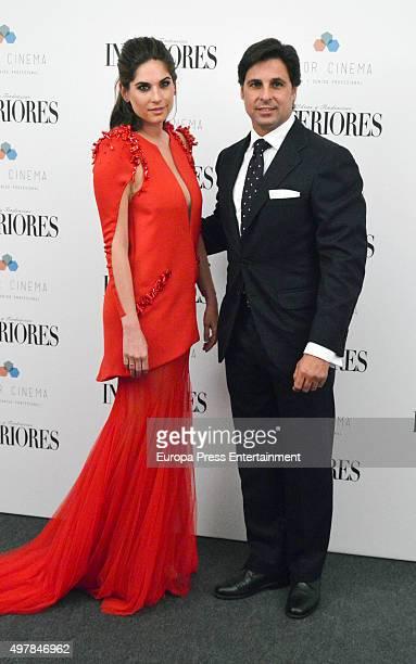 Francisco Rivera and Lourdes Montes attend Revista Interiores International Awards on November 18 2015 in Madrid Spain