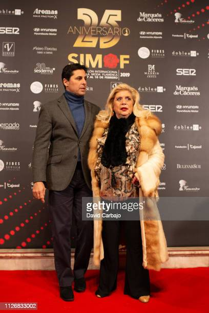 Francisco Rivera and Maria Jimenez attend the SIMOF Gala 25th Anniversary awards on February 01 2019 in Seville Spain