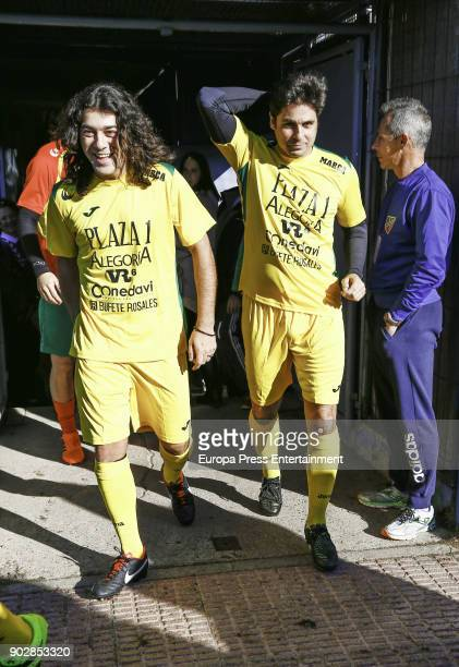 Francisco Rivera atttends the Celebrities against Bullfighters charity foootball match on December 30 2017 in Madrid Spain