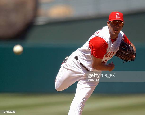 Francisco Rodriguez of the Anaheim Angels The Blue Jays defeated the Angels 40