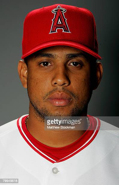 Francisco Rodriguez of the Los Angeles Angels of Anaheim poses for a portrait during photo day at Tempe Diablo Stadium February 22 2008 in Tempe...