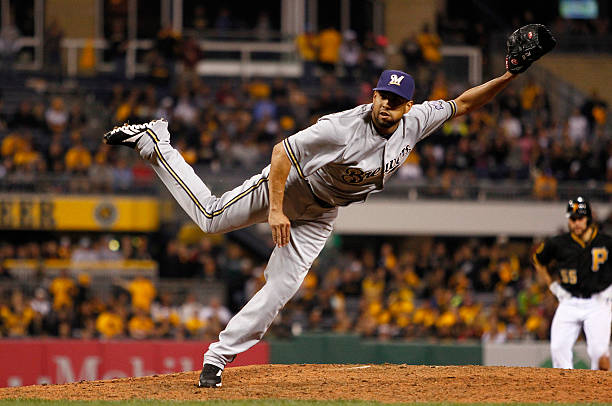 Francisco Rodriguez of the Milwaukee Brewers