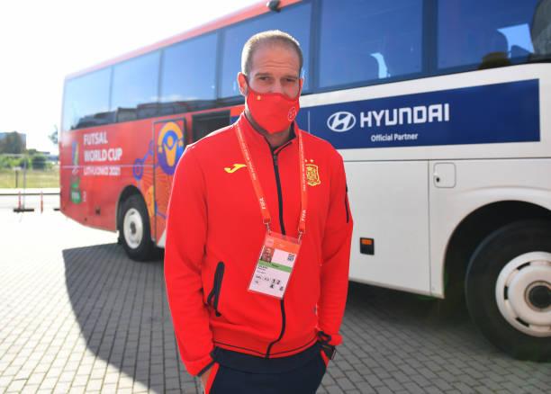 LTU: Spain v Angola: Group E - FIFA Futsal World Cup 2021