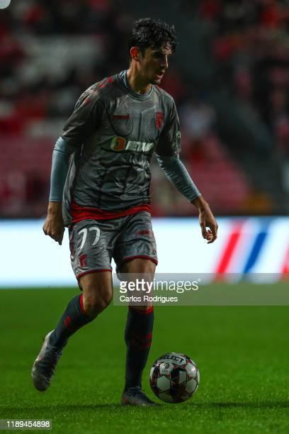 Francisco Trincao of SC Braga during the Taca de Portugal match between SL Benfica and SC Braga at Estadio da Luz on December 18 2019 in Lisbon...