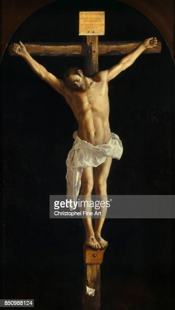 Francisco Zurbaran The Crucifixion 1627 Oil on canvas 290 x 165 m Chicago Art Institute