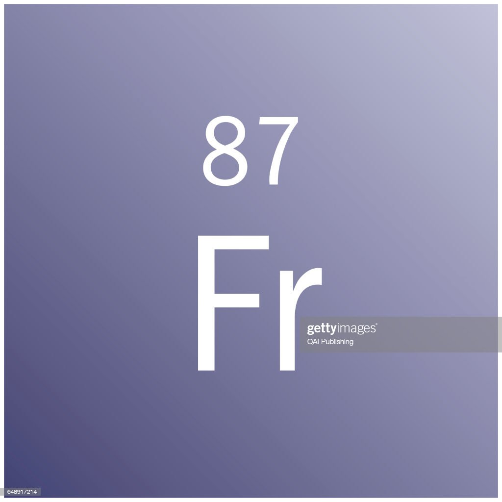 Francium The Heaviest Of The Alkali Metals Is Very Rare And News