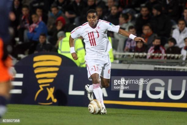 Franck BERIA Montpellier / Lille 8eme Finale Coupe de la Ligue 2010/2011