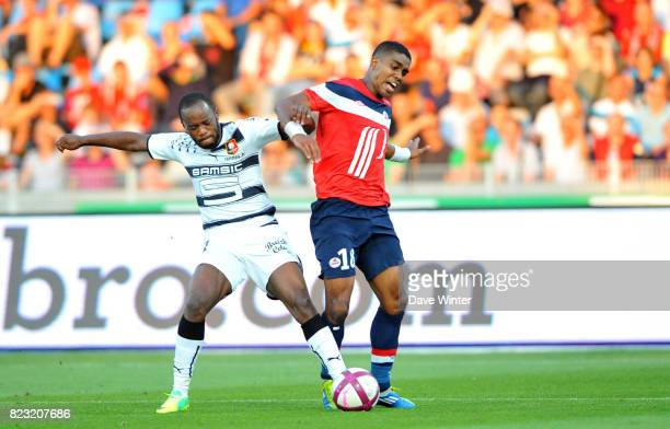 Franck BERIA / Jires KEMBO EKOKO Lille / Rennes 9e journee Ligue 1