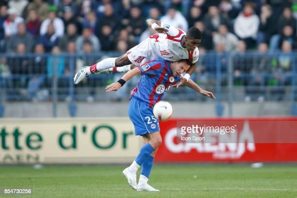 Franck BERIA / Lilian COMPAN Caen / Lille 11eme Journee de Ligue 1