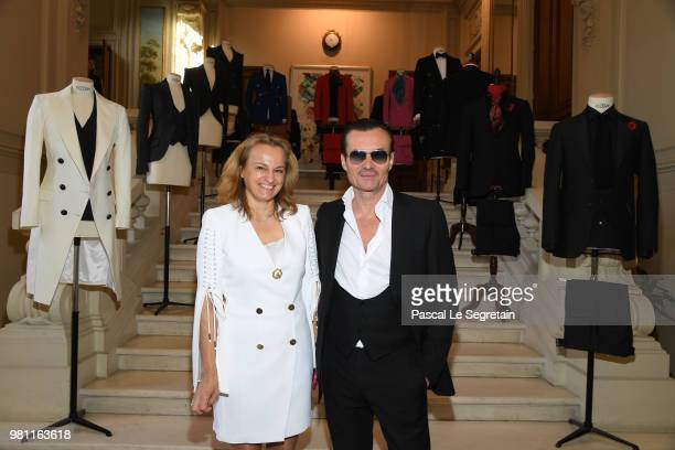 Franck Boclet attends the Smalto Menswear Spring/Summer 2019 Presentation as part of Paris Fashion Week on June 22 2018 in Paris France