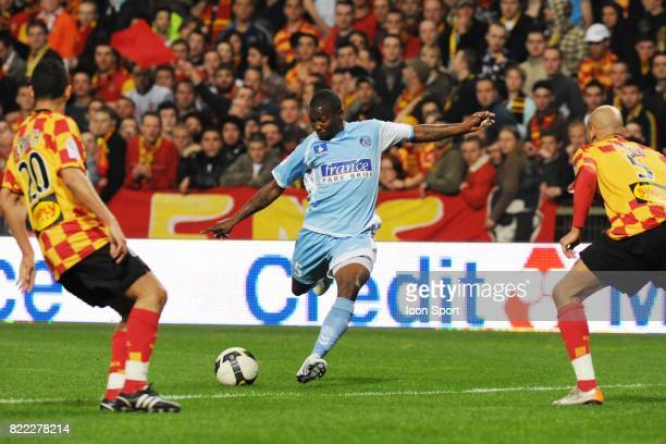 Franck DJA DJEDJE Lens / Strasbourg 31e journee Ligue 2 Stade Bollaert Lens
