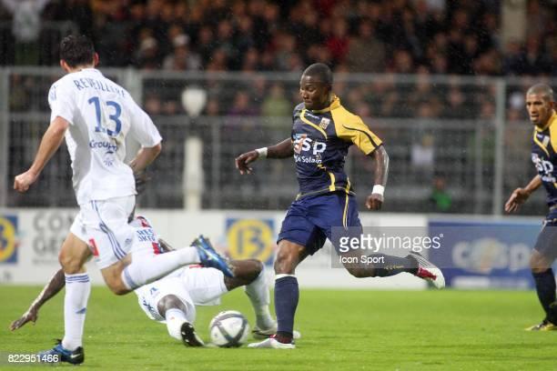 Franck DJA DJEDJE Arles Avignon / Lyon 10e journee Ligue 1