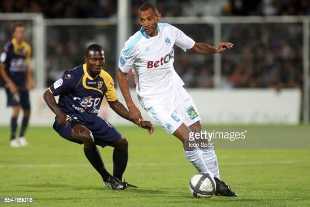 Franck DJA DJEDJE / Edouard CISSE Arles Avignon / Marseille 6e journee Ligue1