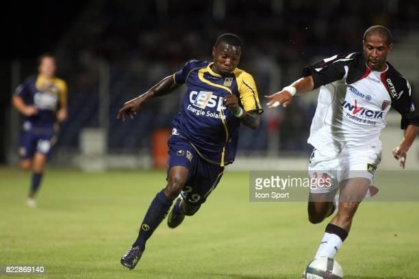 Franck DJA DJEDJE / Eric CHELLE Arles Avignon / Lens 2eme journee de Ligue 1 Parc des Sports Avignon