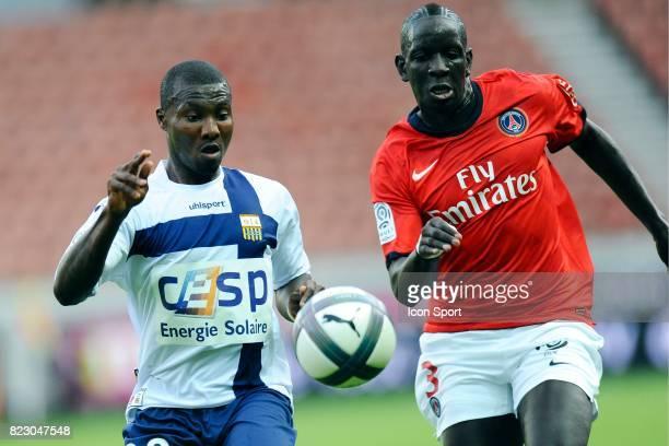 Franck Dja Djedje Mamadou Sakho PSG / Arles Avignon 5eme journee de Ligue 1