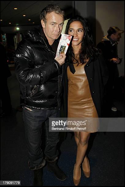 Franck Dubosc and wife Daniele at The Last Dany Brillant Salsa Tour At Au Palais Des Sports In Paris