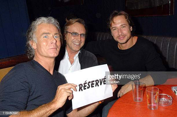 Franck Dubosc during ''Deja Vu'' Paris Premiere After Party at Planete Hollywood in paris France