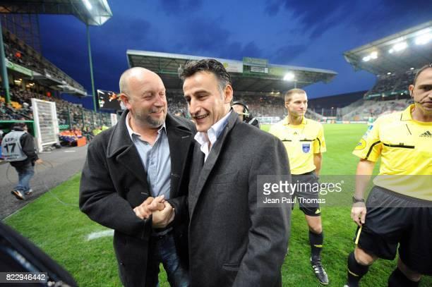 Franck DUMAS / Christophe GALTIER - - Saint Etienne / Caen - 10e journee Ligue 1,