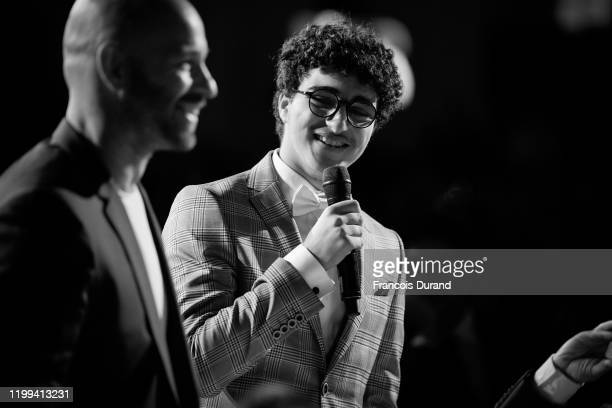Franck Gastambide and Idir Ben Addi during the Cesar Revelations 2020 at Petit Palais Ceremony on January 13 2020 in Paris France