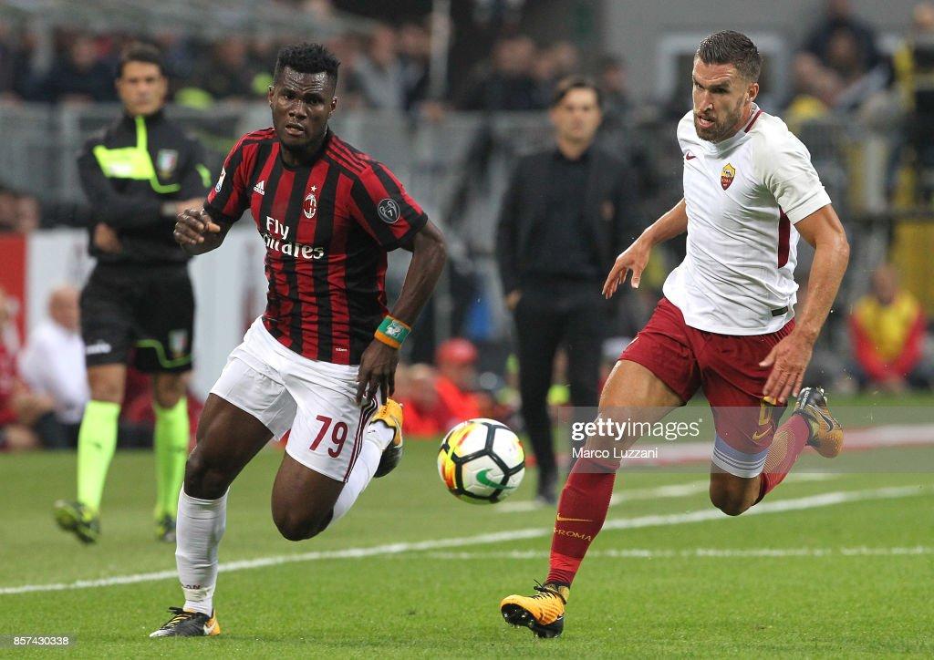 AC Milan v AS Roma - Serie A : ニュース写真