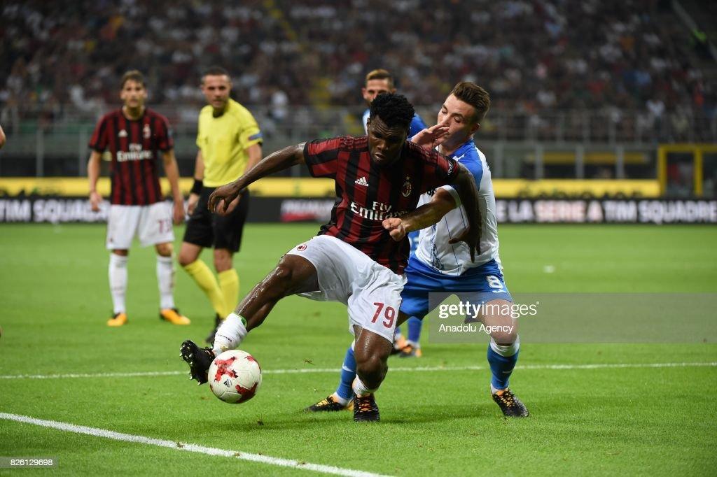 AC Milan vs CS U Craiova : UEFA Europa League : News Photo