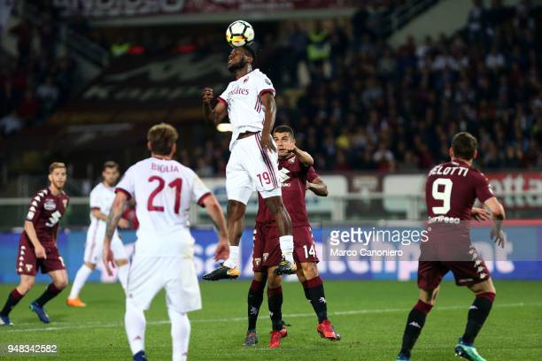 Franck Kessie of Ac Milan in action during the Serie A football match between Torino Fc and Ac Milan The match end in a tie 11