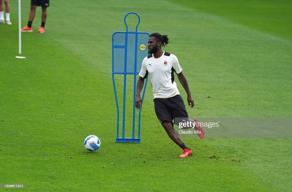 AC Milan Training Session : News Photo